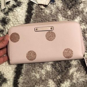 Pink Polka Dot Wallet